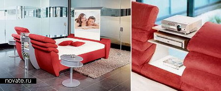 Кровать Multimedia Bed с RUF Cinema