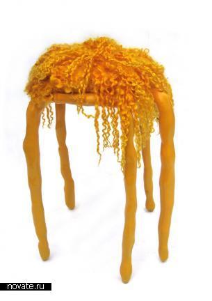 «Пластилиновая» мебель Маартена Бааса
