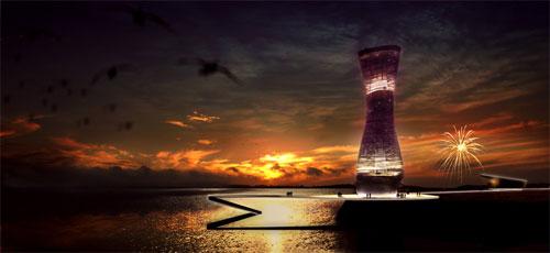 Проект обсерватории Mersey от Duggan Morris Architects