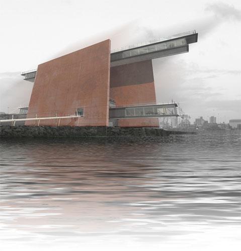 Проект обсерватории Mersey от Farrel and Clark Architects
