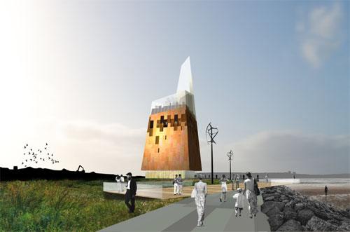Проект обсерватории Mersey от Phos Architects