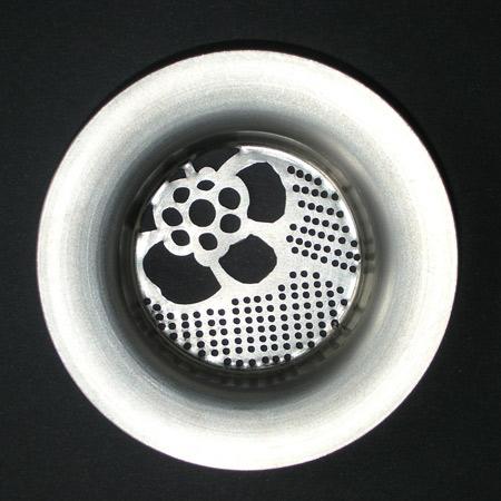 Дизайнерский слив для раковины
