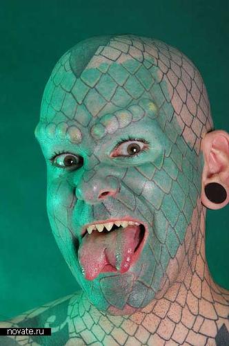 Человек-ящерица