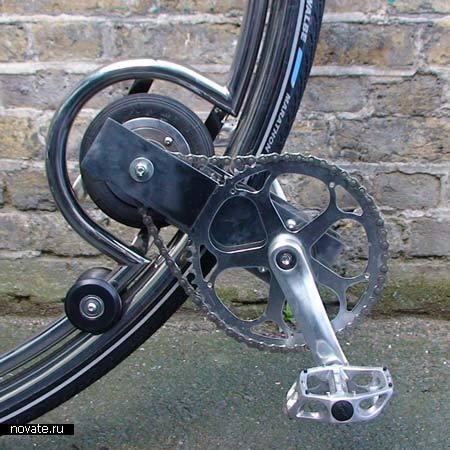 Одноколесный велосипед от Бена Уилсона