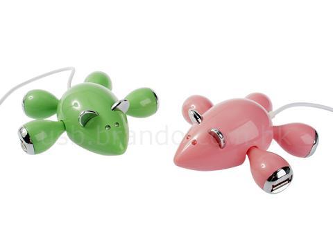 Мышь подключенная к компьютеру - USB-хаб