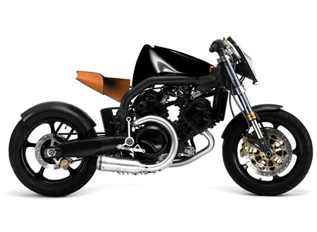 Концепт-дизайн мотоцикла Voxan от Филиппа Старка