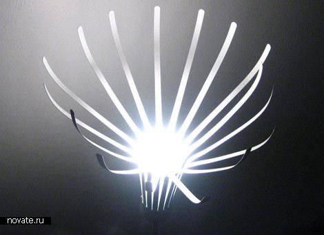 Распускающаяся лампа