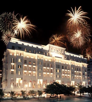 Празднование Нового Года в Рио-де-Жанейро