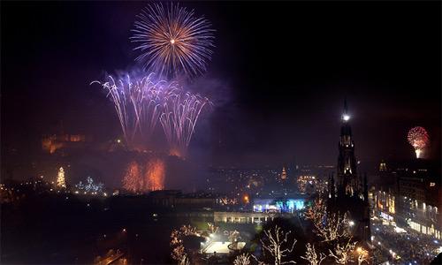 Празднование Нового Года в Эдинбурге