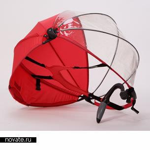 Зонт Nubrella защитит вас от любой непогоды оставив руки свободными