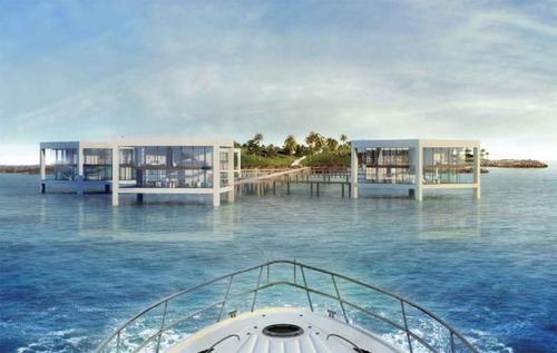 Курорт и частные дома на острове Нурай