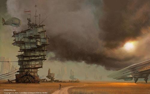 Вторая работа Сергея Скачкова, Россия