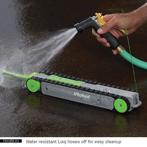 Робот для чистки водостоков