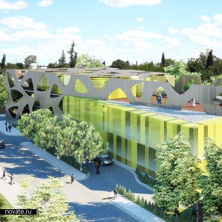 Проект торгового центра от Pascal Arquitectos