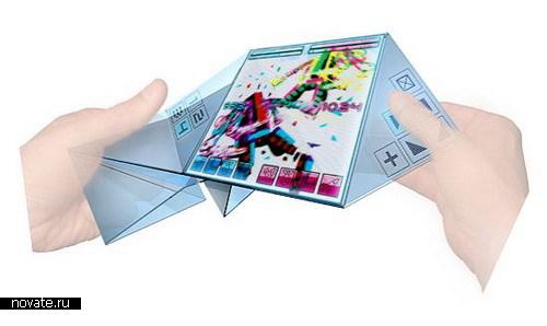 Бумажный телефон будущего
