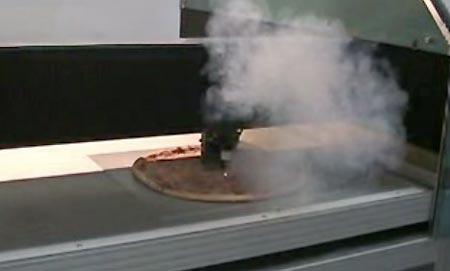 Лазерная пиццерезка