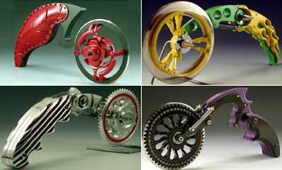 Пиццерезки от Фрэнки Флуда в виде монструозных мотоциклов