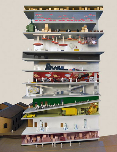Дизайн для нового выставочного комплекса на юге Милана от АМО