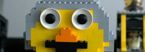 Робот-бармен от LEGO