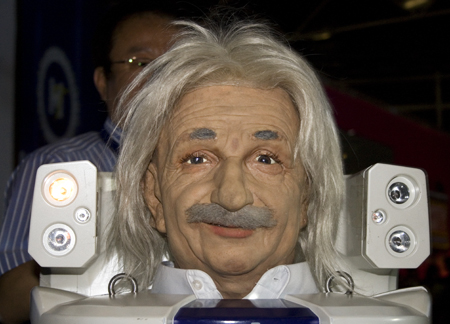 Albert Hubo - робот-Эйнштейн
