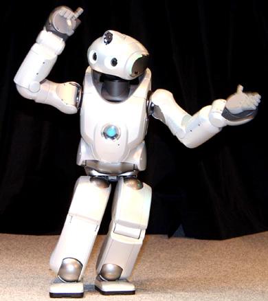 QRIO  танцующий робот