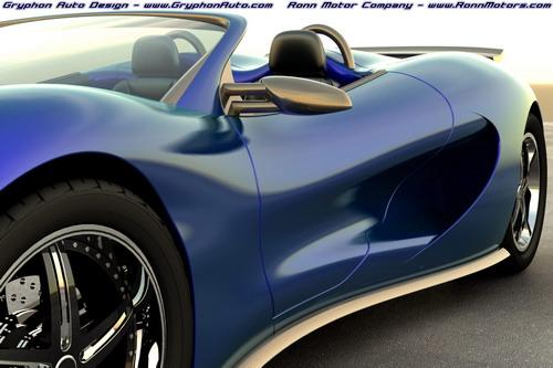 Спортивный автомобиль с водородным двигателем