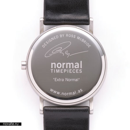 Часы Normal Timepieces от Ross McBride