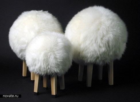 Табуретки-овцы