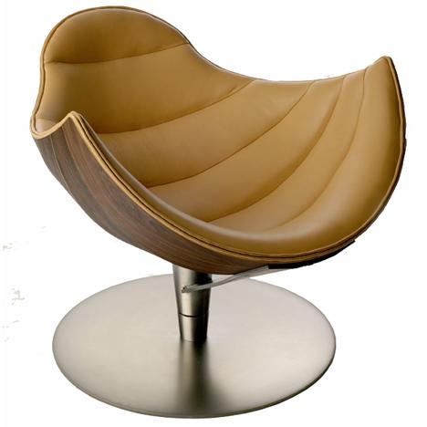 Кресло Шелли Кресло Лобстер названо так, так как форма сиденья припоминает хвост рака.  А Шелли (Shelley) похоже на...