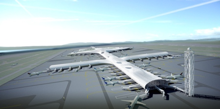 Терминал аэропорта в Шэньчжэне, разработанный Массимилиано и Дорианой Фускас