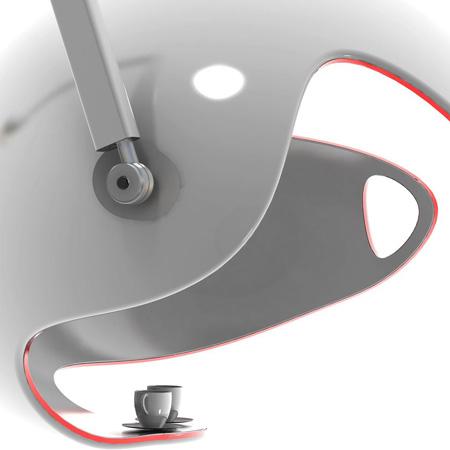 Smoker Bell - подставка для чашек из кафе на улице