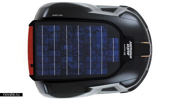 Робот-газонокосильщик Automower Solar Hybrid поможет вам с уходом за газоном