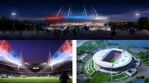 Новый стадион Зенита - Россия