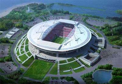 Новый стадион появится в центре Ярославля.