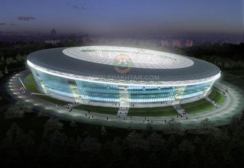 Новый стадион Шахтера - Украина