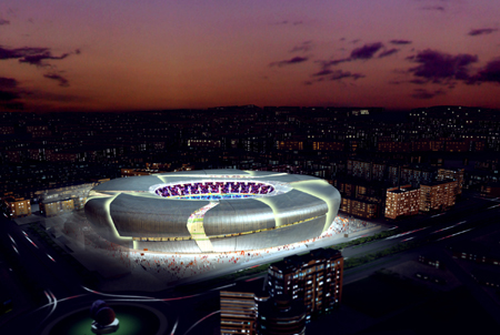 Nou Mestalla - Испания