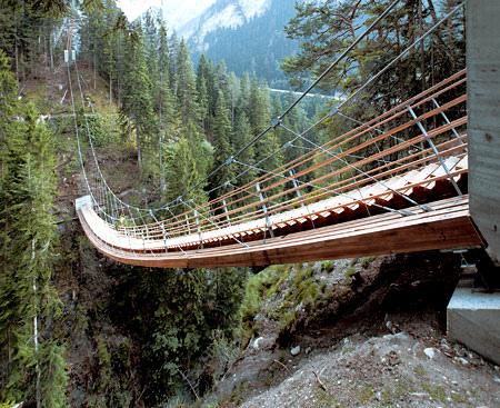 Висячая лестница