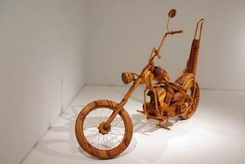 полномасштабная деревянная модель Ли Стотцеля