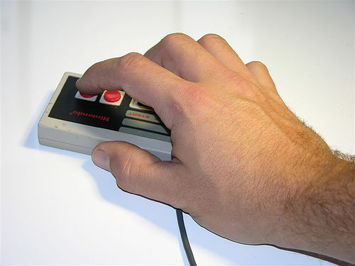 NES Controller Optical Mouse