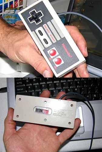 NES Controller Optical Mouse