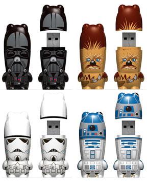 USB-флэшки в виде героев Звездных Войн
