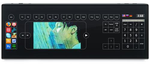 Клавиатура Optimus Taktus, режим просмотр видео