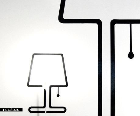 Лампы-наклейки
