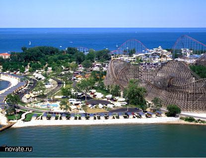 парк Сedar Point в Огайо