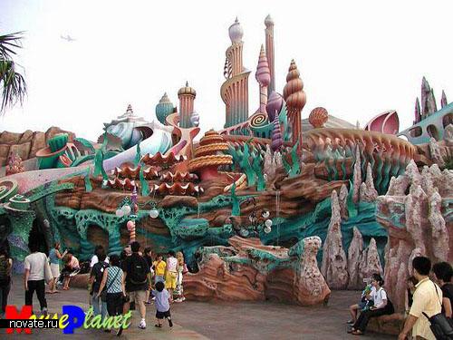 парк Disneysea в Токио
