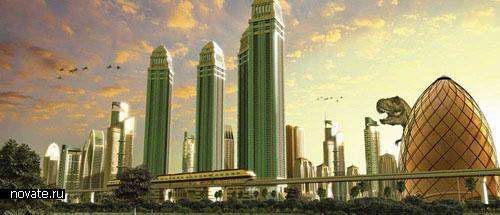 парк Dubailand в Дубае