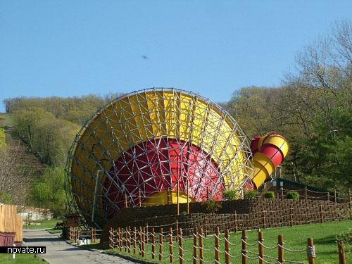 парк Action park в Нью Джерси