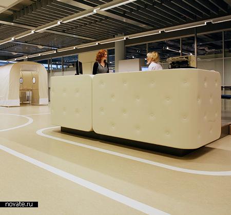 Регистрационная комната в департаменте здравоохранения города Апельдурн