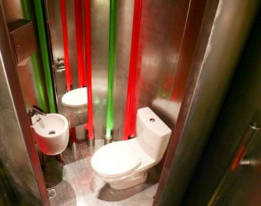 Туалет в John Michael Kohler Arts Center