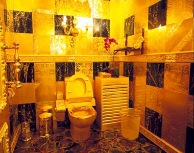 Туалет в Swisshorn Gold Palace